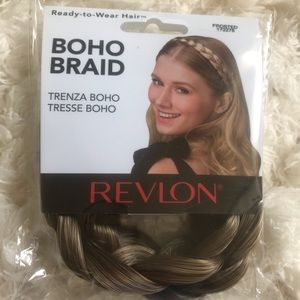 Boho braid. Color frosted.